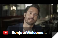 bonjour welcome